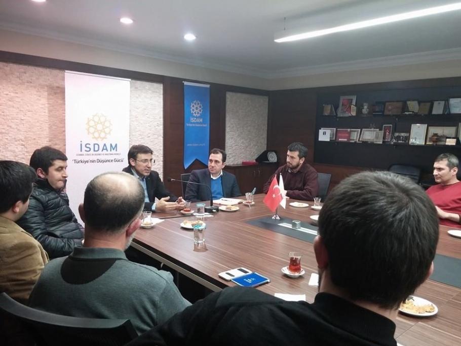 Din ve modernite bağlamında, Türkiye-AB İlişkileri ve AGİT Konulu Söyleşi - Söyleşiler - İsdam, İstanbul Stratejik Düşünce ve Araştırma Merkezi